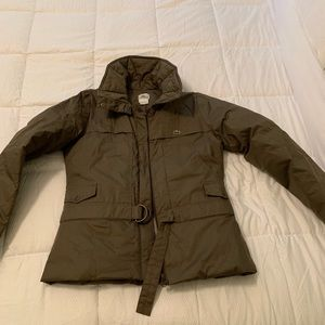 Lacoste down jacket so stylish and warm!